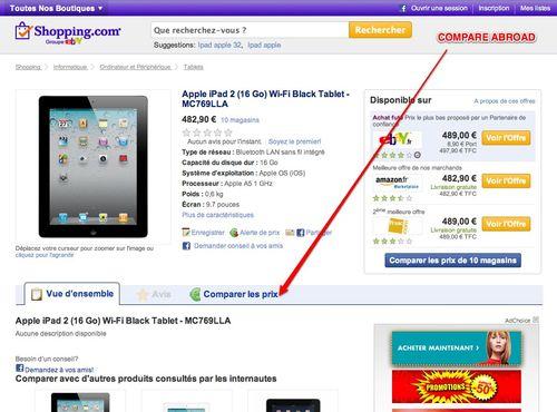 Apple iPad 2 (16 Go) Wi-Fi Black Tablet - MC769LLA caractéristiques | Informations Tablets | Ordinateur et Périphérique sur Shopping.com