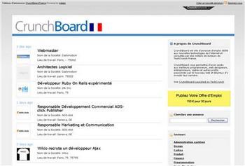 Crunchboard france