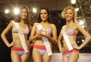 So to change our minds this stimulating picture of miss world contest (from ...